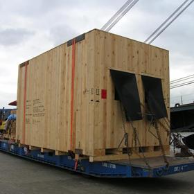 Oversized Transport - Crates