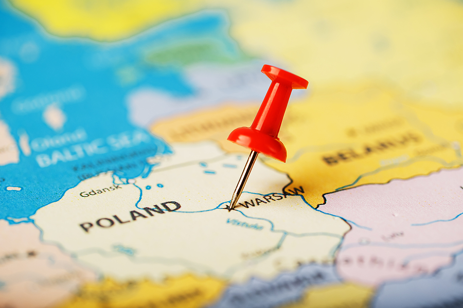 cost of shipping from Poland to USA